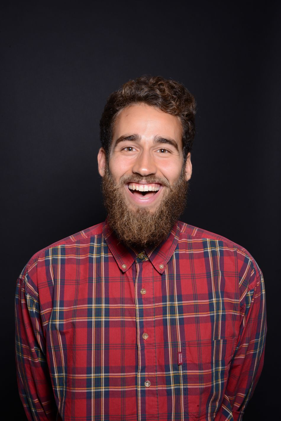 Talib, an awesome photographer and model that I was working with recently. Model Beard Beautydish Portrait Photography