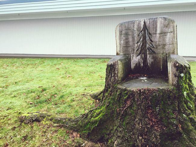 Chair stump