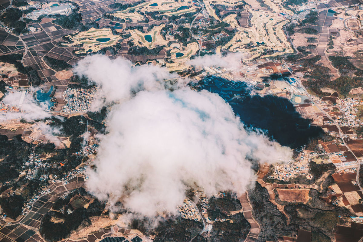 cloud On The Sky Panoramic Travel White Clouds House On The Clouds Overlooking