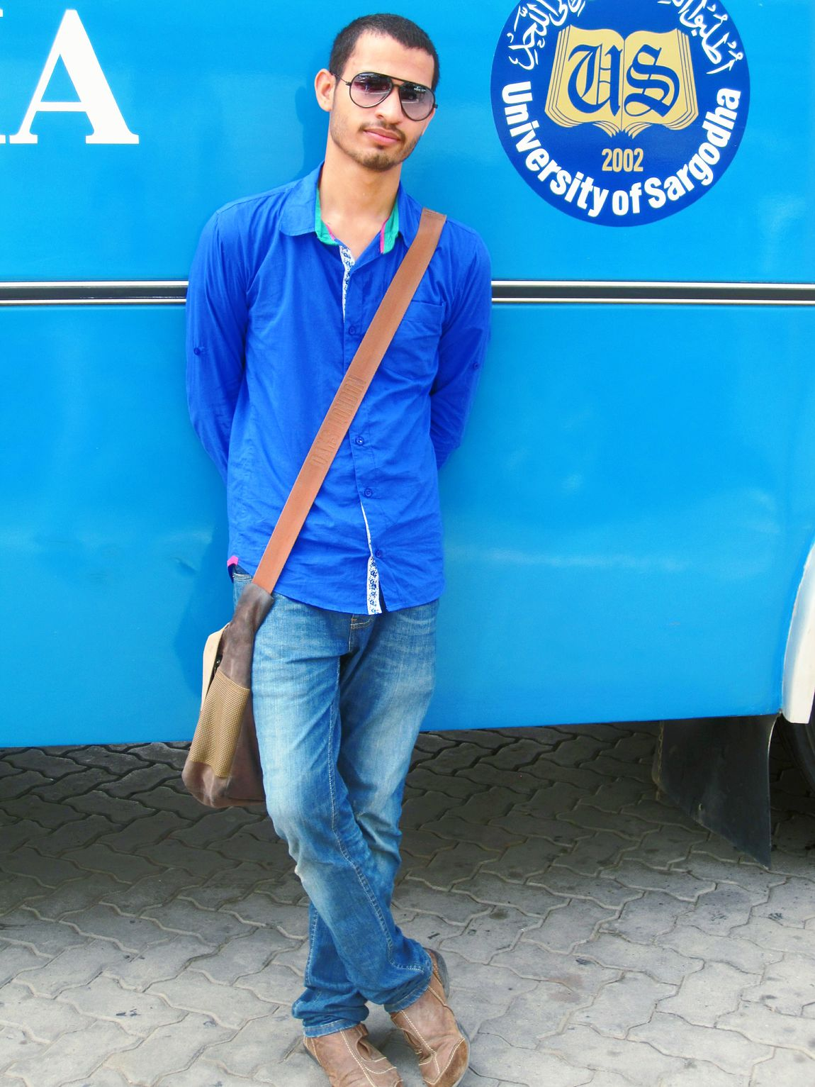 With Uni bus....:-)
