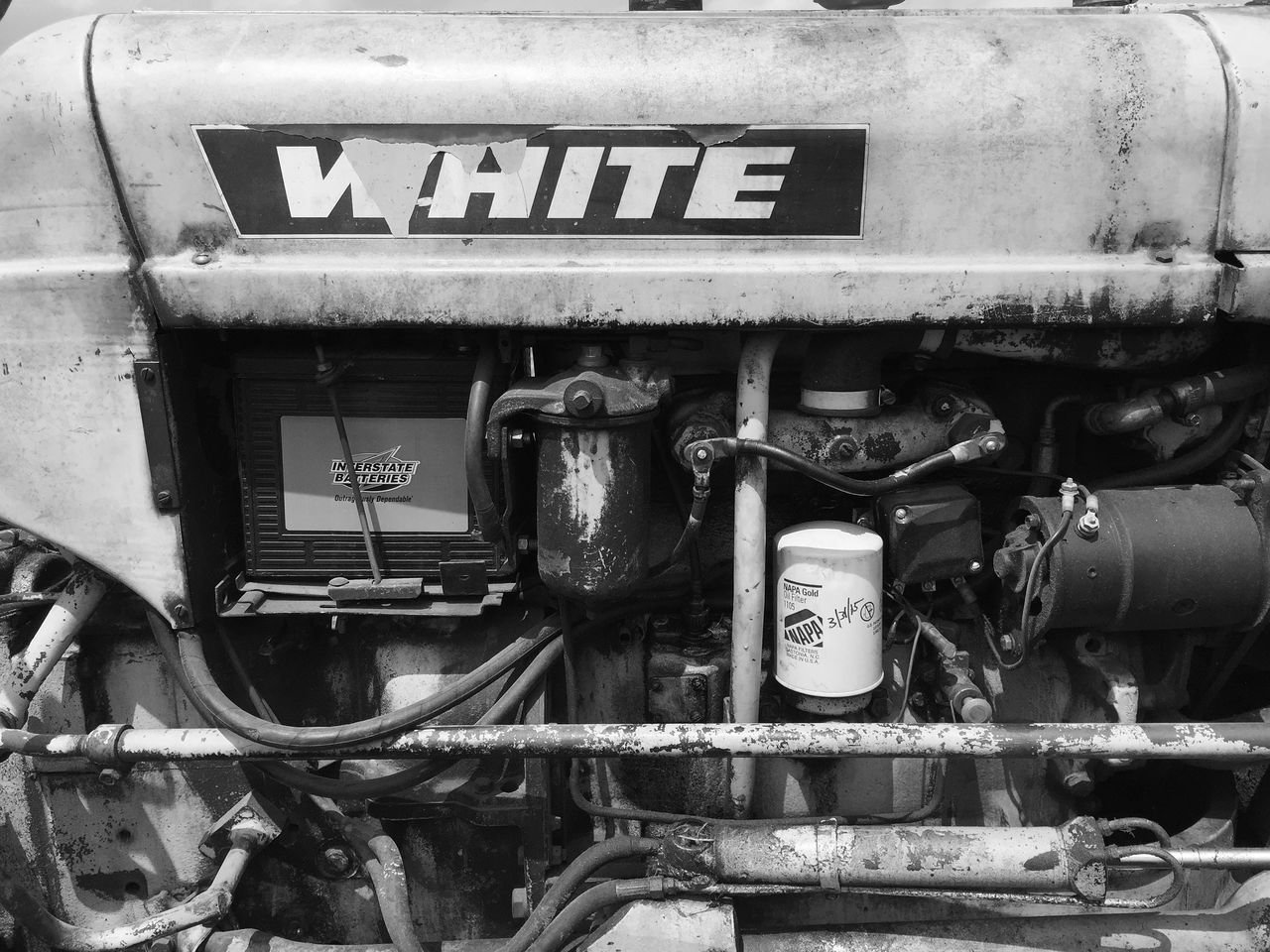 Shoot It Challenge Shoot It Challenge - Tractor Iphone 6 Plus Explore Your Outdoors Tractor Black And White
