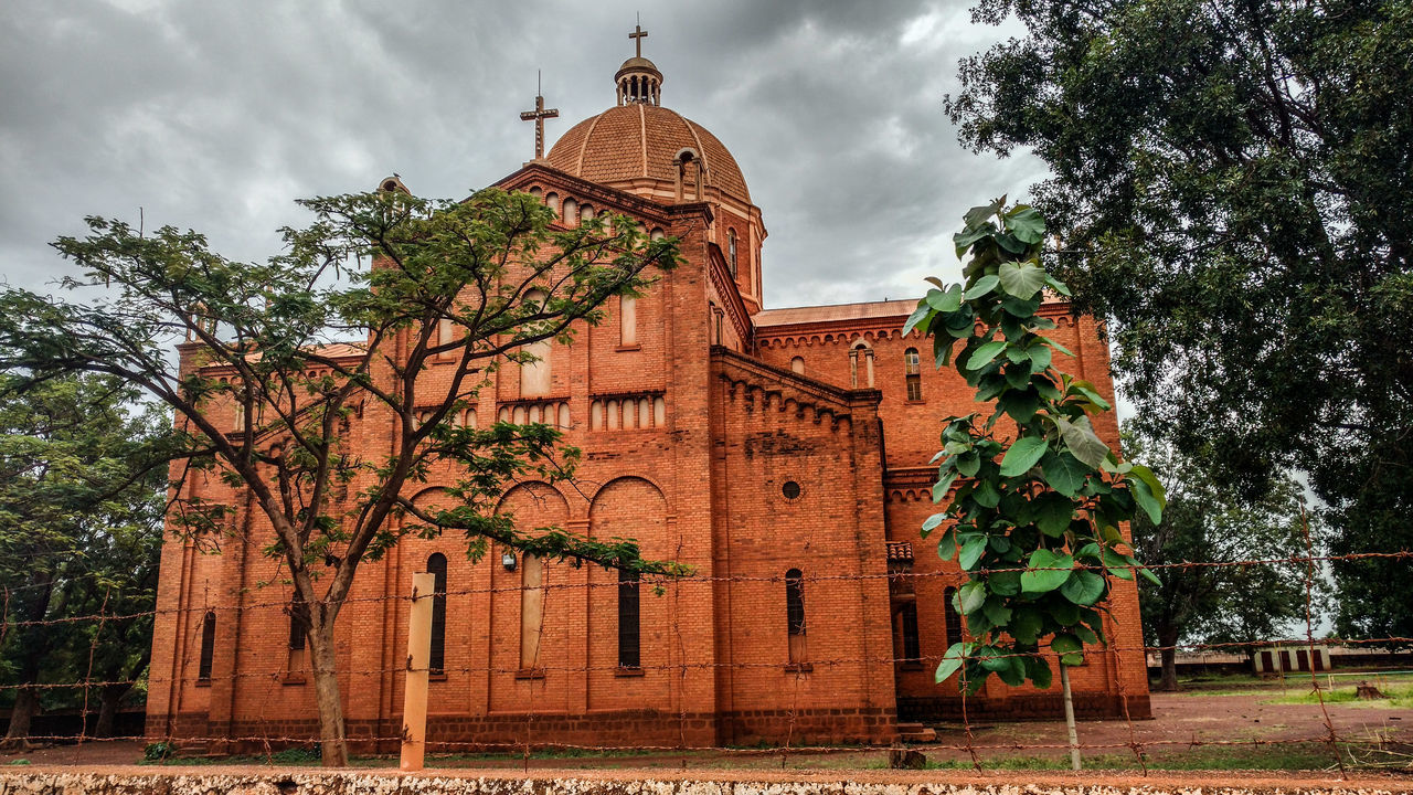 A beautiful Catholic church in a perhaps unlikely location, Wau, South Sudan The Architect - 20I6 EyeEm Awards