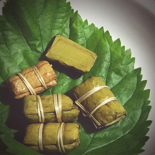 ข น ม ไ ท ย; ข้าวต้มมัด Banana Split With Sticky Rice Khao Tom Mud