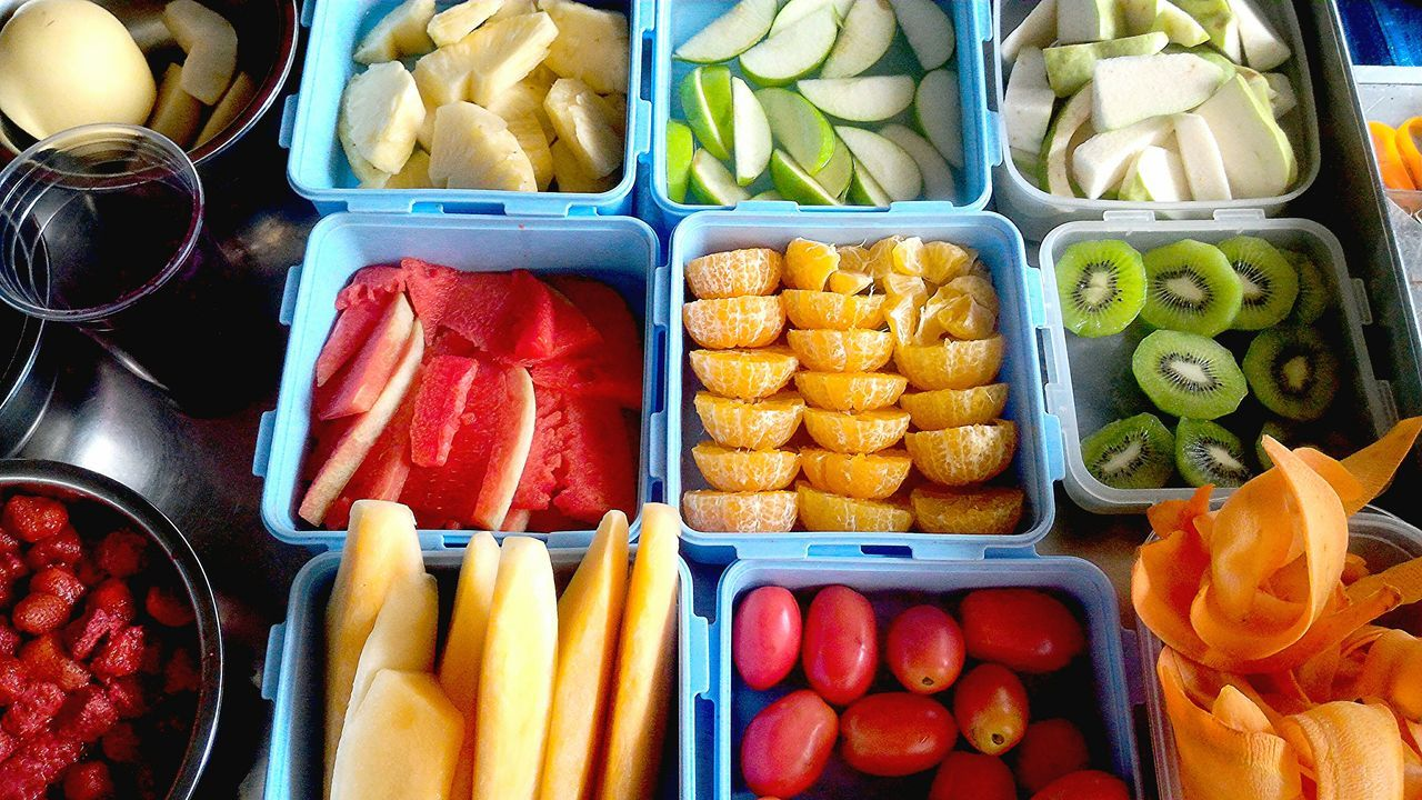 Happy to be simple. Just fruit for summer! Fruitjuice Fruits Various VariousColors Ready-to-eat Outdoors No People Freshness Colorful