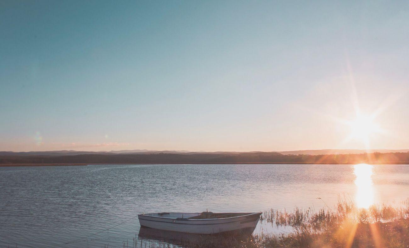 Nature Water Sunset Beauty In Nature Sunlight Scenics Sky No People Sunbeam Outdoors Beach Landscape Lake Sunset #sun #clouds #skylovers #sky #nature #beautifulinnature #naturalbeauty #photography #landscape Canon Canonphotography Turkey Igneada EyeEm Selects EyeEm Selects