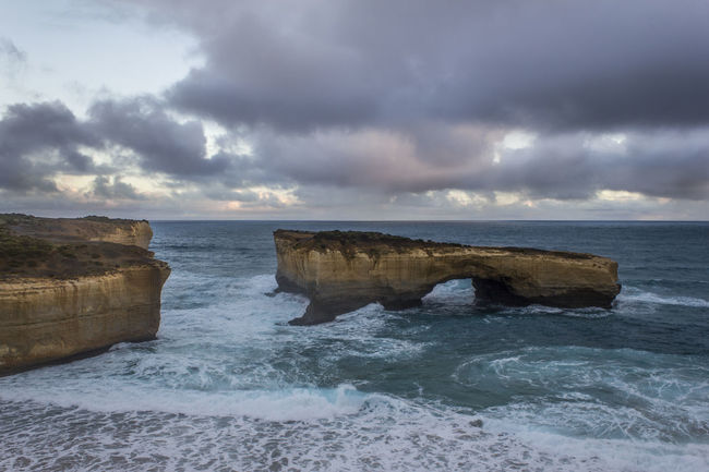 12 Apostles Apostles Australia Beach Beauty In Nature Cliff Cloud - Sky Cloudy Landmark Rock Rock Formation Scenics Sea Sight Sightseeing Sky Twelve Days Of Christmas On Eye Em Water Wave Landscapes With WhiteWall The KIOMI Collection The Great Outdoors With Adobe The Great Outdoors - 2016 EyeEm Awards