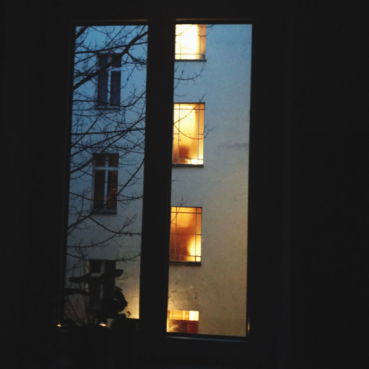 Illuminated Electricity  Lighting Equipment Window Architecture Building Exterior No People Built Structure Sky Outdoors Day Berlin Kreuzberg Saturday Morning Morning Light #lights