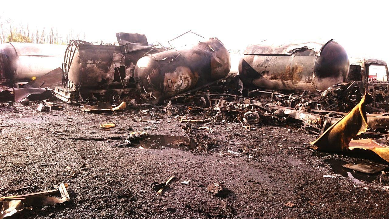 Gas Tank Explosion Gaz Feu Explosion Fire Firefighter Pompiers Port De Bassens War Bordeaux France