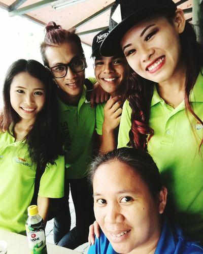 Wefie team.. Smiling Friendship Cheerful People Selfie