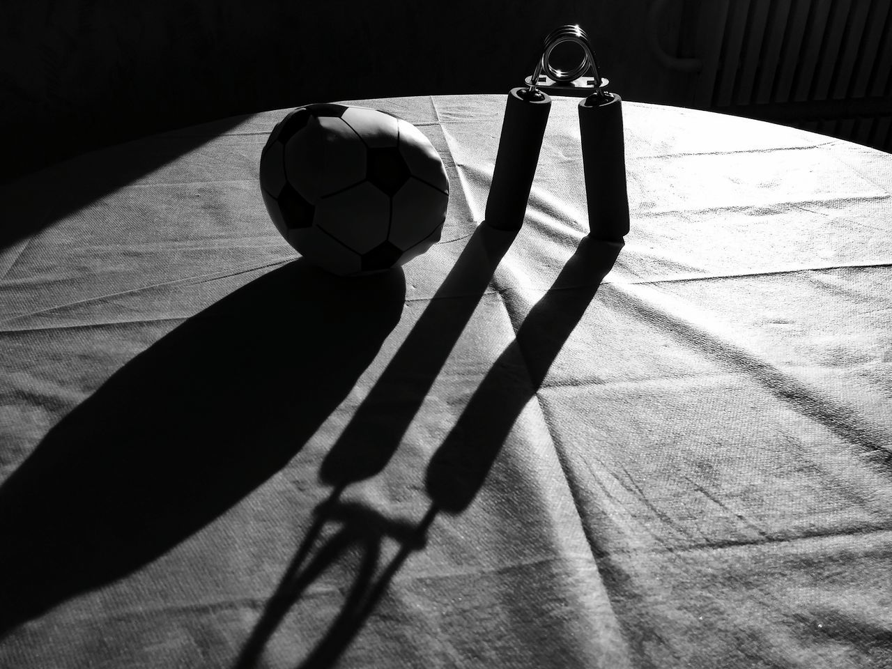 Shadow Sunlight Leisure Activity Close-up Indoors  No People Ball Golf Club Day Light And Shadow Blackandwhite Blsckandwhite Black And White Minimalism EyeEmNewHere Sport