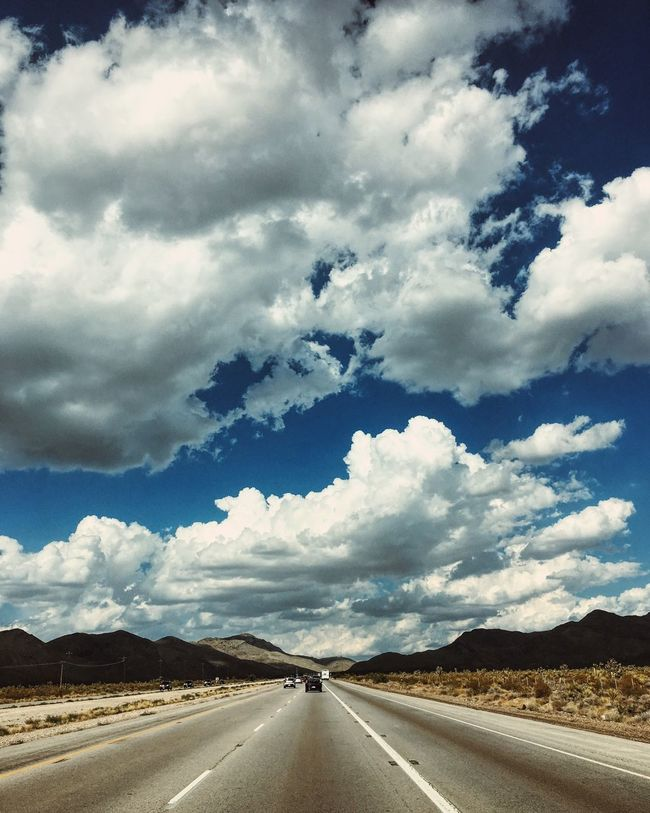 En route to Las Vegas and enjoying Nevada scenic drives. IPhoneography Travel Road Las Vegas Vscocam Color Of Life
