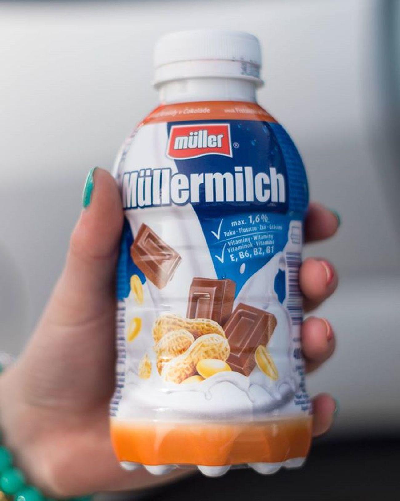 Najpierw był Wałbrzych i Auchan(ogólnie plany były inne no, ale wyszło tak) a tutaj jeden z zakupów 😀Pierwszy raz piłam i się zakochałam super jest😊😀Czasem można😛 Drink Drank Drunk Instadrink Shake Müllermilch Milch Mleko Czekolada  Chocolate Orzechy Ziemne Peanuts Delicious Yummy Beautiful Time Weather Trip Travel Auchan Zakupy Shopping Walbrzych Poland polishgirlweekendniedzielasaturdaylikeforlike