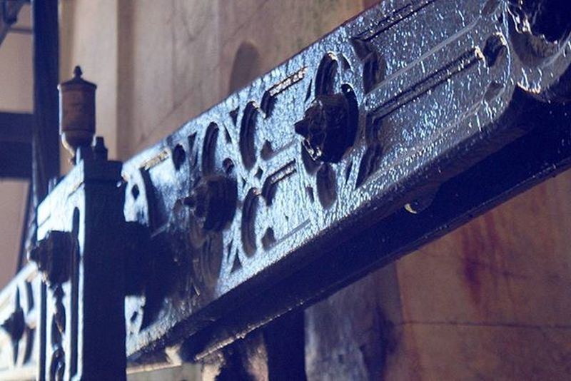 Waterwheel Pump . Beautiful Architecture and Design . inside the AlteSaline OldSaltWorks SaltRefinery . Salz Salt Museum . Badreichenhall Bavaria Bayern Deutschland Germany . Taken by my Sonyalpha DSLR Dslt A57 . متحف ملح بايرن المانيا