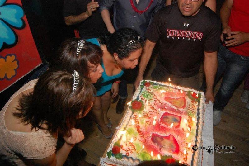 Happy Birthday x 3 Celebrating