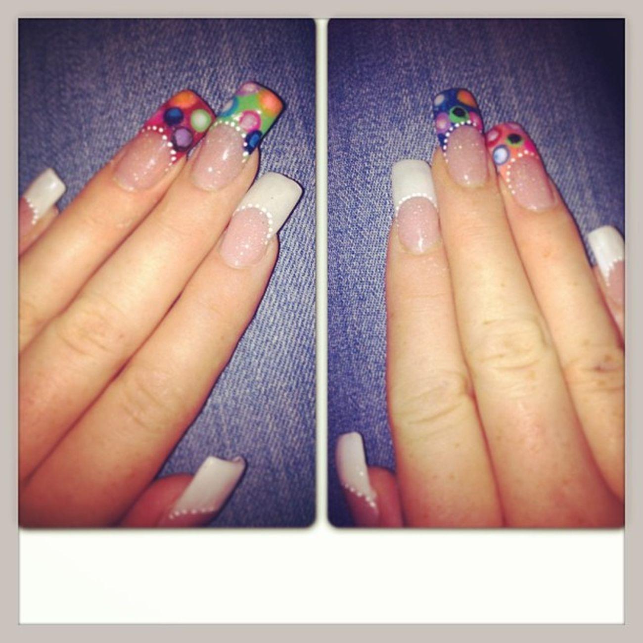 Hermosas mis uñas