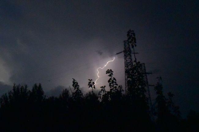 Sky Dark Cloud - Sky Landscape Lightning Mesmerize Me