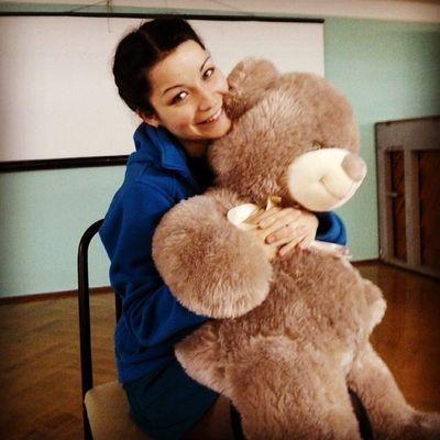 Дети задарили медведя.Люблю их)))