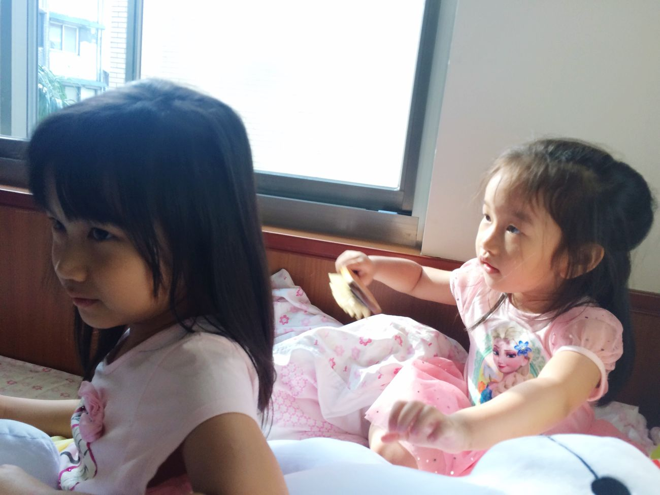 Combing Hair Cousin Love<3 Home Sweet Home Lovely <3 <3 <3 Nieces