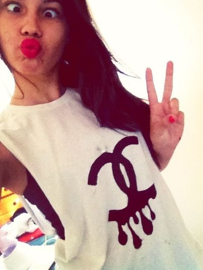 Deuces and duck faces ;)