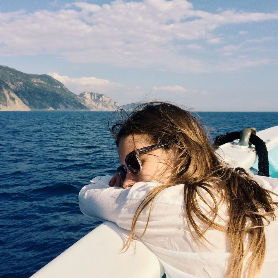 Beautiful stock photos of sailing, Beauty In Nature, Boat, Casual Clothing, Caucasian Ethnicity