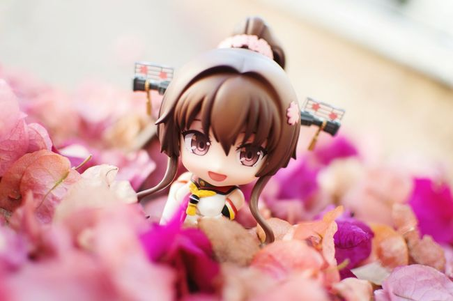 Yamato fun time. Animefigure Figurephotography Toyphotography Nendophotography Goodsmilecompany Nendoroid Yamato Kantaicollection Kancolle
