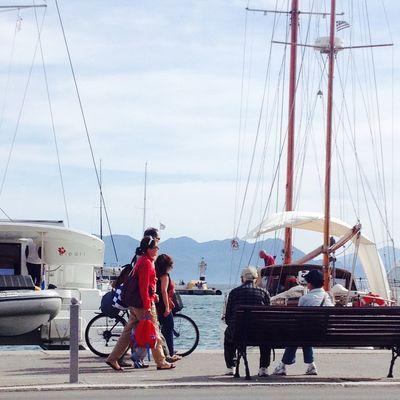 Aegina Port.
