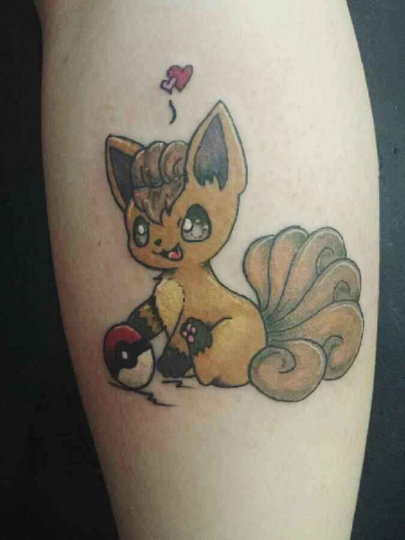 Tattoosbyniko Color Bomb Tattoo Pokemon♥♥♥♥