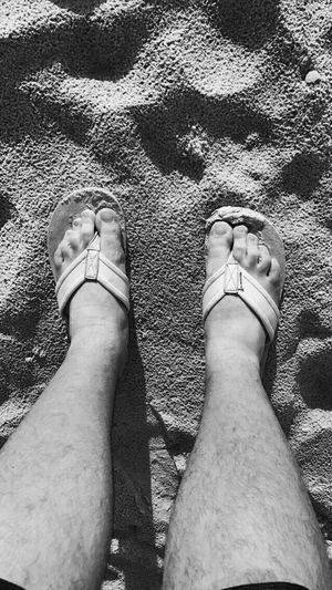 Real People Sand Beach Low Section Human Leg High Angle View Personal Perspective Day Men One Person Outdoors Leisure Activity Barefoot Human Body Part Lifestyles Vacations Nature Close-up Only Men Adult
