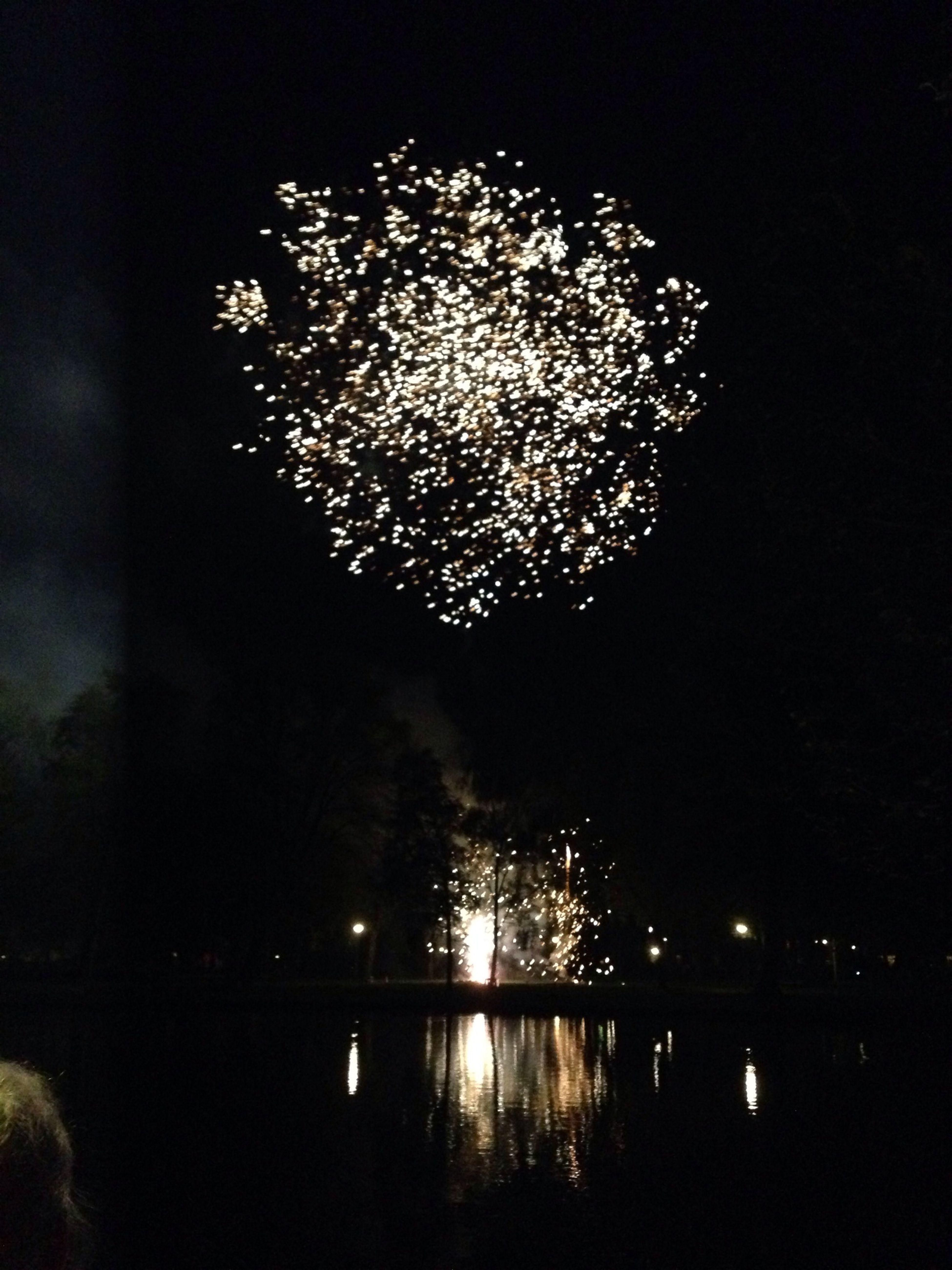 Fireworks Kingsday Taking Photos Hello World