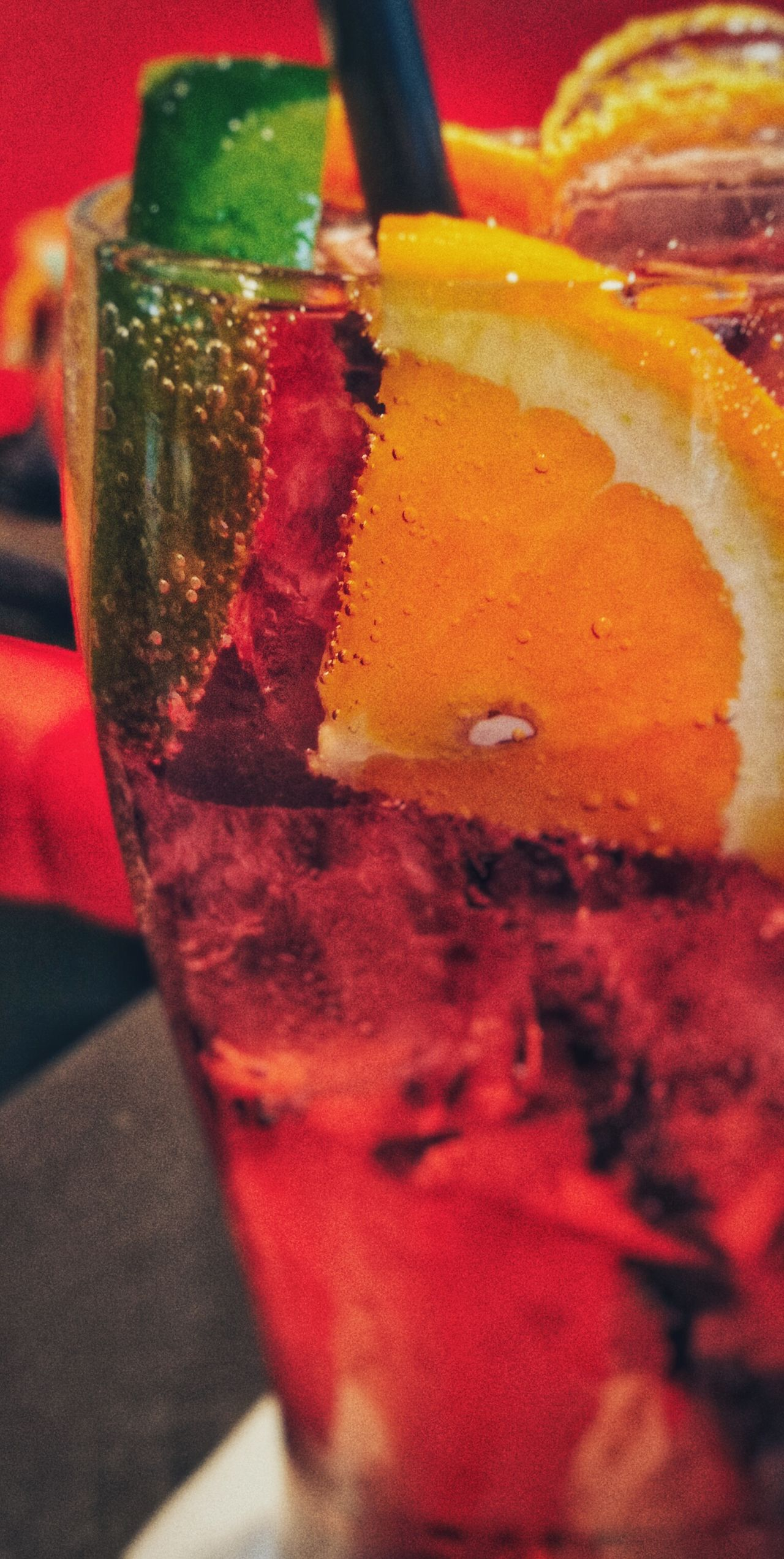 Colour Of Life Huawei Huaweip9lite Huaweiphotography Cocktails Orange Strawberry Red Red Color