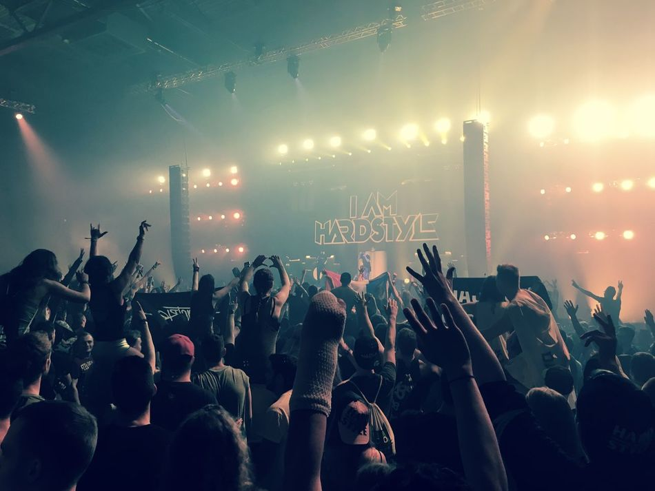 Hardstyle is my religion Brennan Heart Hardstyle Hardstyle <3 I Am Hardstyle Large Group Of People Mannheim Music People