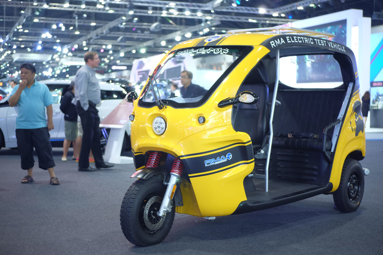 mini car in Thailand motor expo 2016 Car Event Exibition Exibition Hall Hall Indoors  Mini Car Motor Motor Expo Present Show Thailand Motor Expo 2016 Tuk Tuk