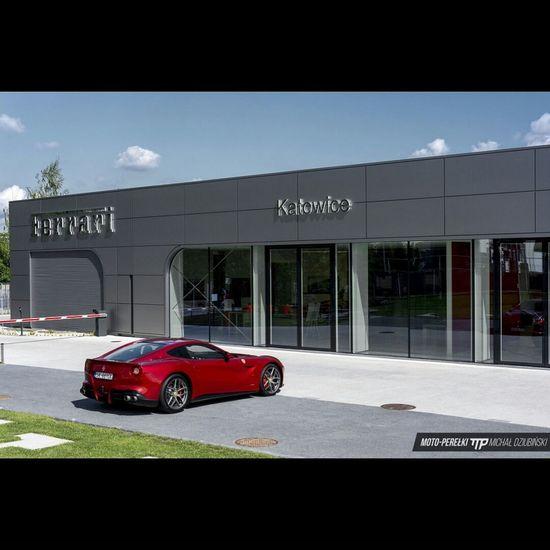 Ferrari Car City Life Luxury Luxurylifestyle  Luxury Car Berlinetta Rosso Katowice Photography Photo Pic Picoftheday Picture Carporn Exoticcar Luxurylife