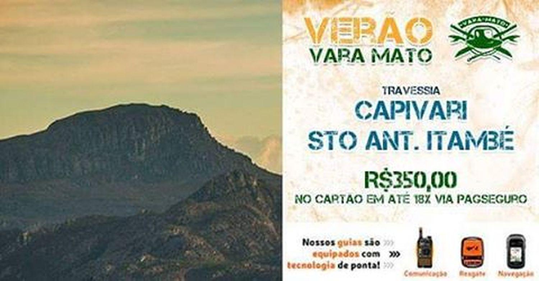 🏃 No final de janeiro (29,30,31) teremos a bela travessia de Capivari a Santo Antônio do Itambé, com acampamento no Pico Itambé. . 👥 Total de vagas: 10 👤 Vagas disponíveis: 8 . 💵 Com opção de pagamento em depósito, boleto ou em até 18x no cartão de crédito via PagSeguro! . 🤘 Confira o evento: https://www.facebook.com/events/1949861125239235/ . 📲 Informações diretas via Whatsapp: 31 9 71256083 . Travessia Picoitambe Capivari Espinhaco Trekking Camping 2016 Anonovo Réveillon