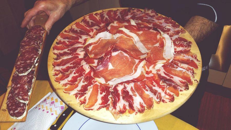 Salumi Salme Fiocchetto Coppa Parma Italy Prodotti Tradizionali Buona Cucina