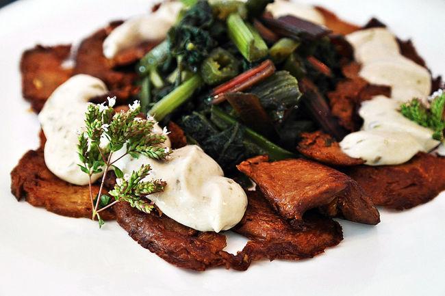 Seitan Close-up Madewithlove Foodphotography Veganfood Italiantaste Organicfood Vero Veg'n'Roll Freshfood Food Capperi Vegetables Handmadefood