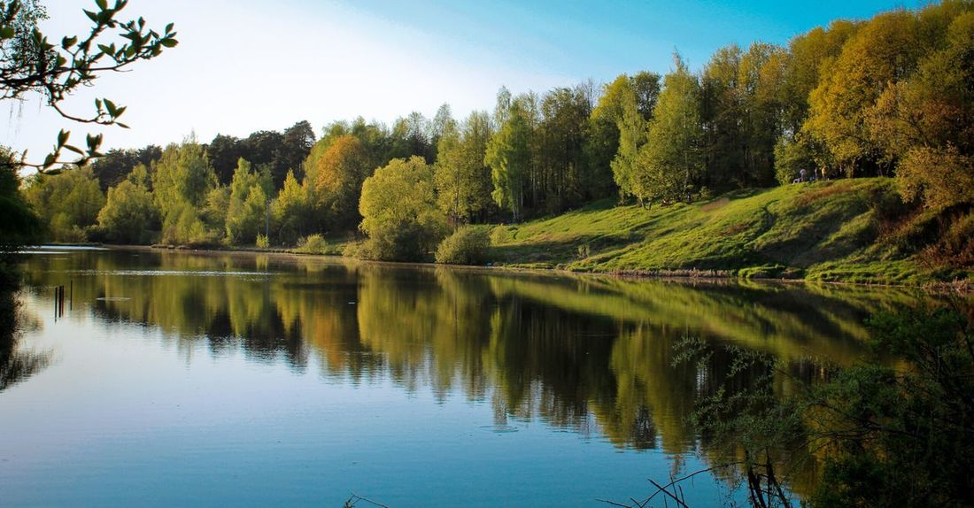 Summer Summertime Nature Nature_collection Russia Lake Hills Green