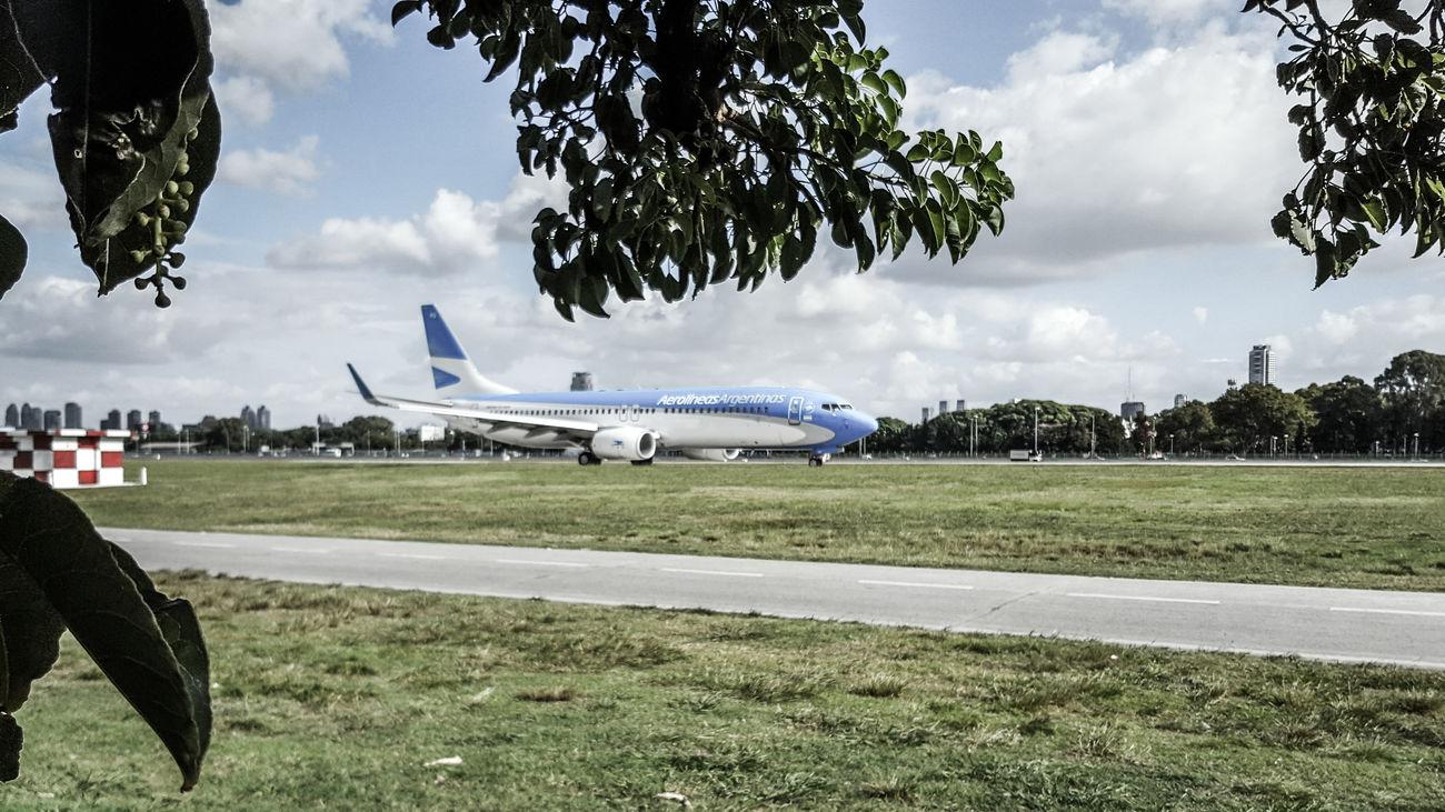 Resultado de imagen para aerolineas argentinas Aeroparque takeoff