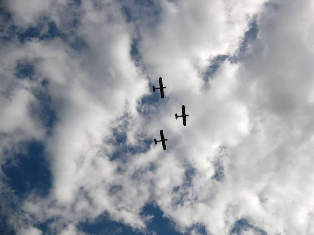Flying high Blue Sky Airplane Flying High Clouds And Sky Clouds Lookingup Old Planes Liberationday May