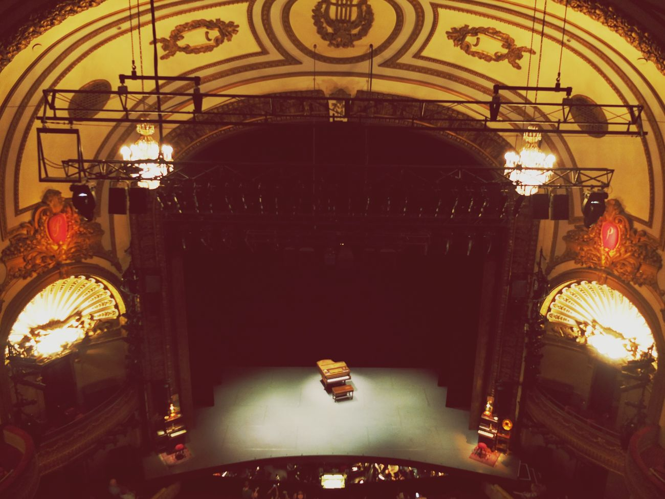Palace Theatre  New York City An American In Paris Indoors  Architecture Ceiling Creativity First Eyeem Photo