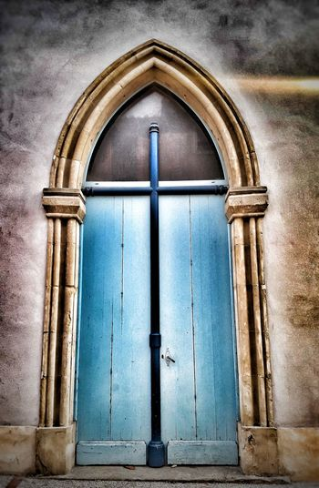 Door Closed Entrance No People Architecture History Close-up Outdoors EyeEm France EyeEm Best Shots EyeEmBestPics Eye4photography  Blue Doors Doorporn