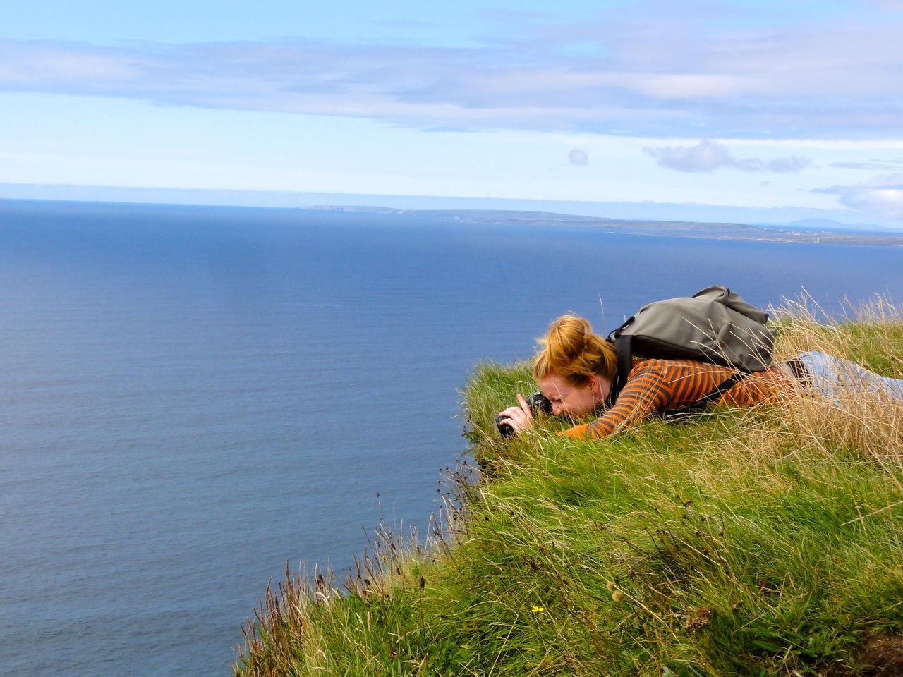 Beautiful stock photos of irland, 25-29 Years, Backpack, Beauty In Nature, Camera - Photographic Equipment