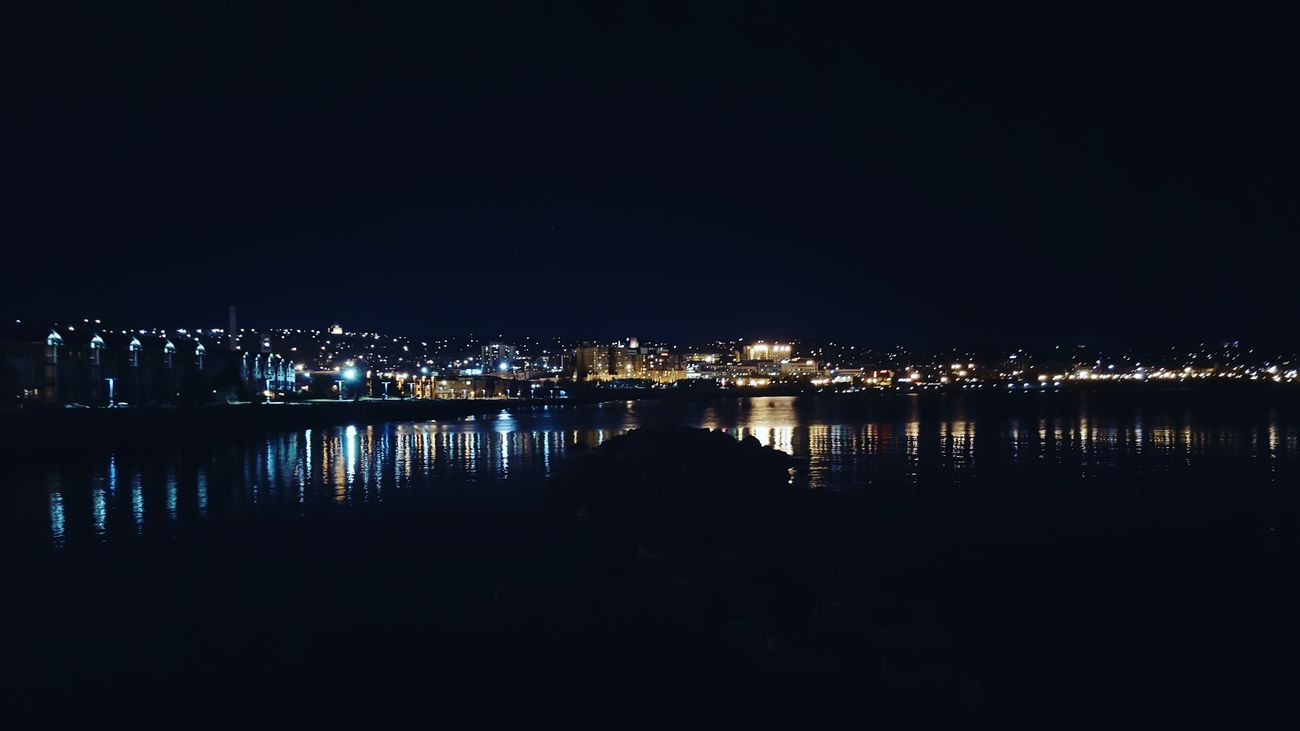 Lake life Night City Water Duluth Lake Superior