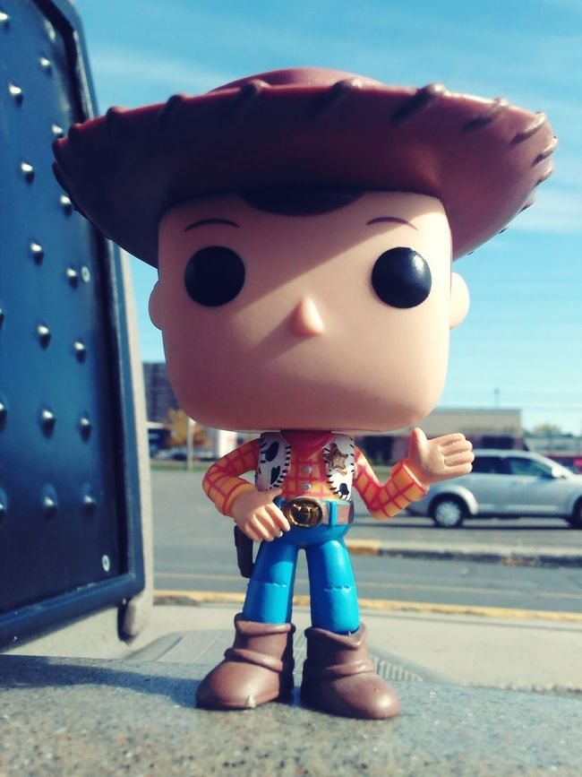 Front View Woody Surface Level Bestever Full Frame Toystory ToyStory2 ToyStory3 Imagination Vibrant Color Upclose  Creativity Extreme Close-up Still Life Fun In Front Of Popfunko Funkopopvinyl Cowboy Cowboy Hat Day Concrete Outdoors Amazing Outdoor Play Equipment