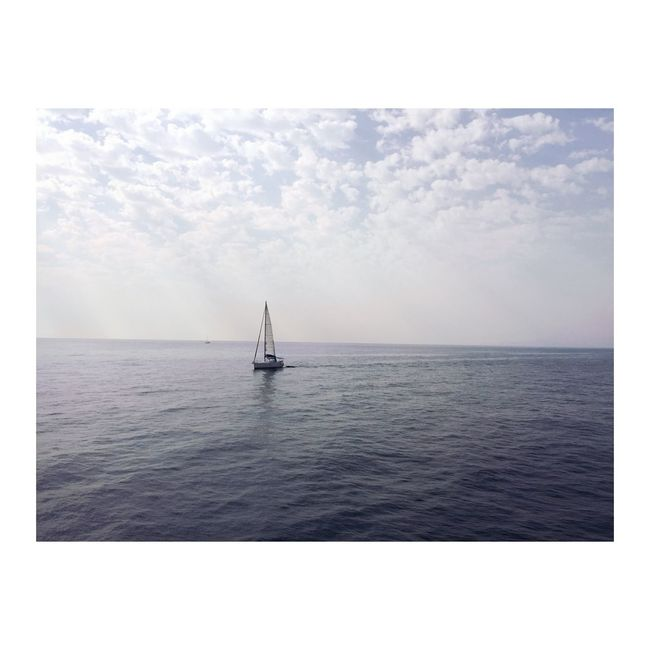 Sea Water Nautical Vessel Horizon Over Water Transportation Nature Sailing No People Day Sky Outdoors Sailboat Scenics Beauty In Nature Yacht Yachting