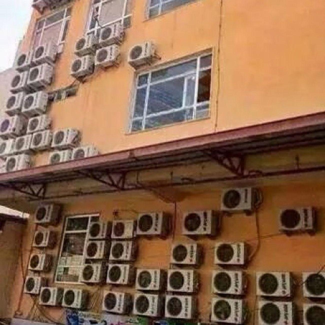 Sıcak Hot Summer Yaz klima aircon cool electric thereissomewallleft birazduvarkalmış