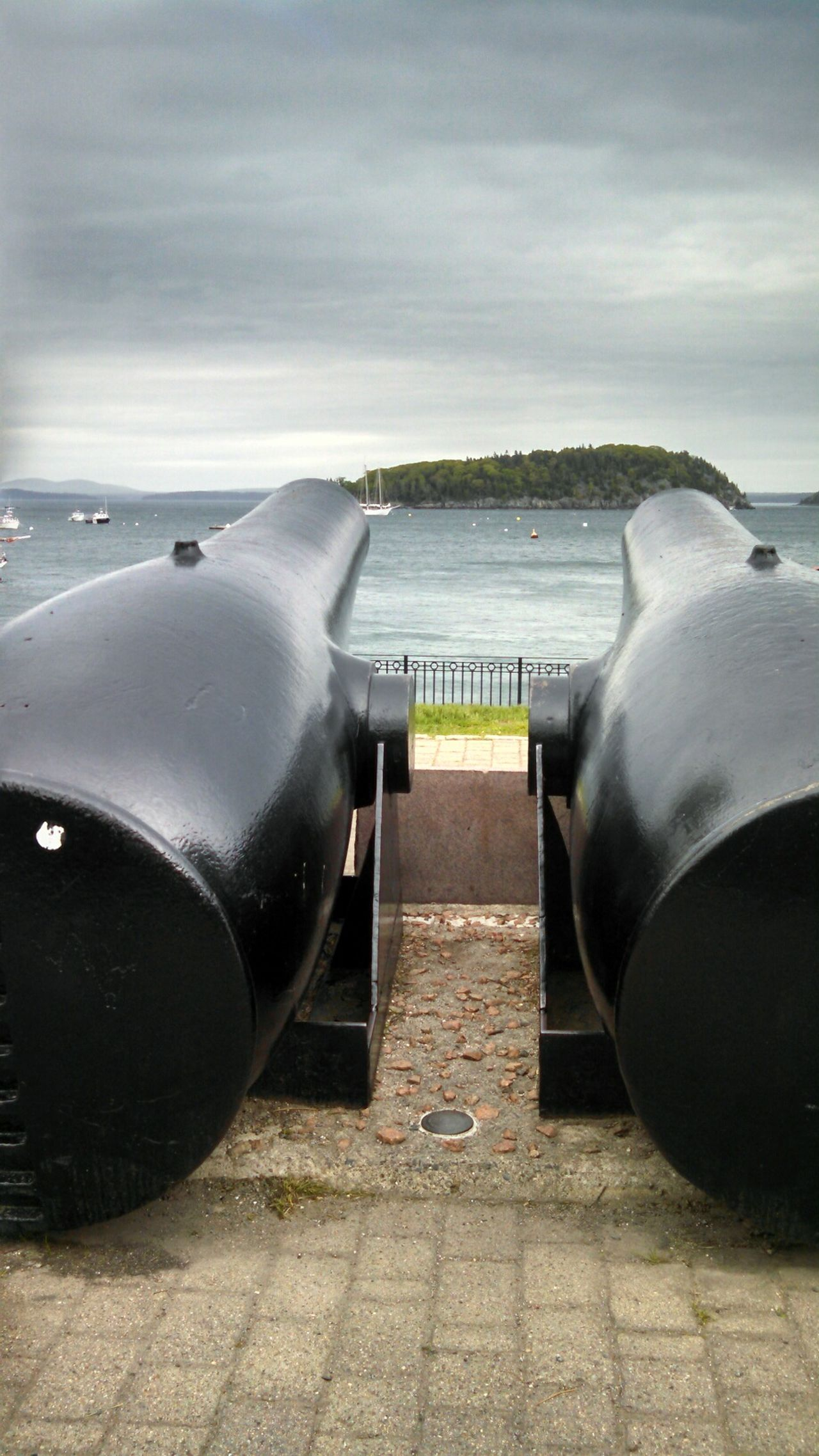 Cannon Bar Harbor Maine Double Trouble Check This Out From My Point Of View Capture The Moment Eye4photography  EyeEm Best Shots Smartphonephotography Mobile Photography Lobuephotos EyeEm Stilllife Still Life Traveling Travel Eyeem Travel Eeyem Photography Getting Inspired EyeEmBestPics No People
