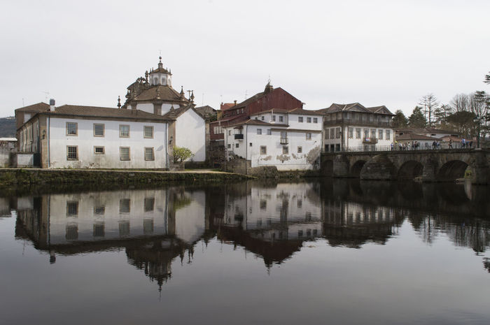 Architecture Bridge Historical Building Portugal Reflection Travel Destinations Water Water Reflections The Architect - 2017 EyeEm Awards EyeEmNewHere EyeEm Selects