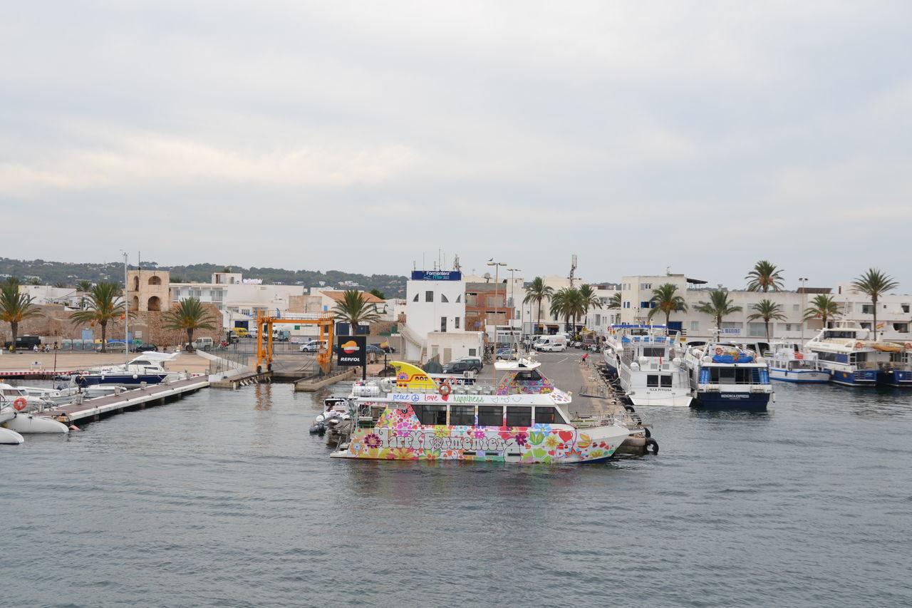 Boat Cityscape Day Formentera Formentera Island Outdoors Seaport Travel Destinations Water