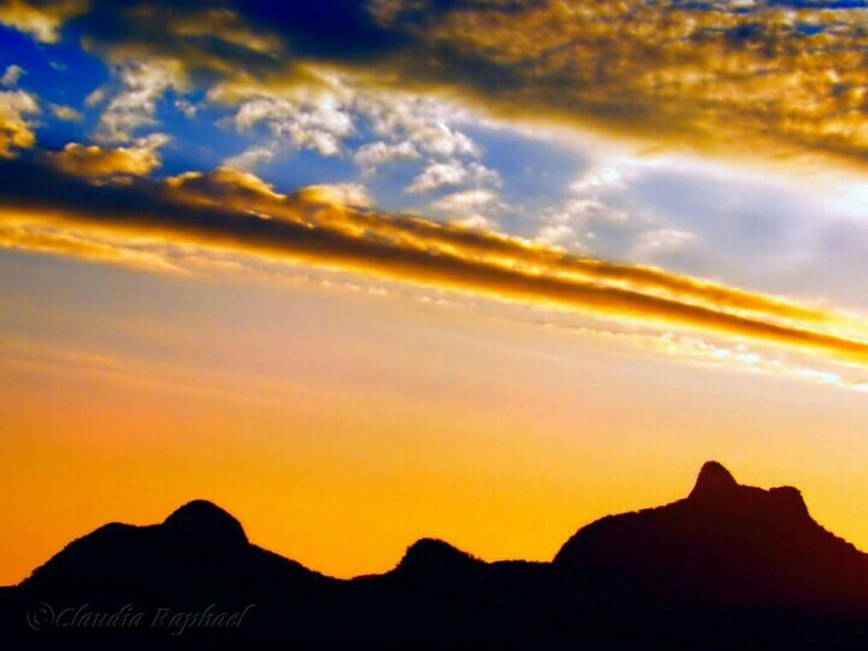 Sunset Dramatic Sky Cloud - Sky Mountain Sky Nature Outdoors Scenics No People Landscape Silhouette Tranquility Beauty In Nature Multi Colored Naturelover EyeEmNewHere Mountains And Sky Clouds And Sky Sunset_collection